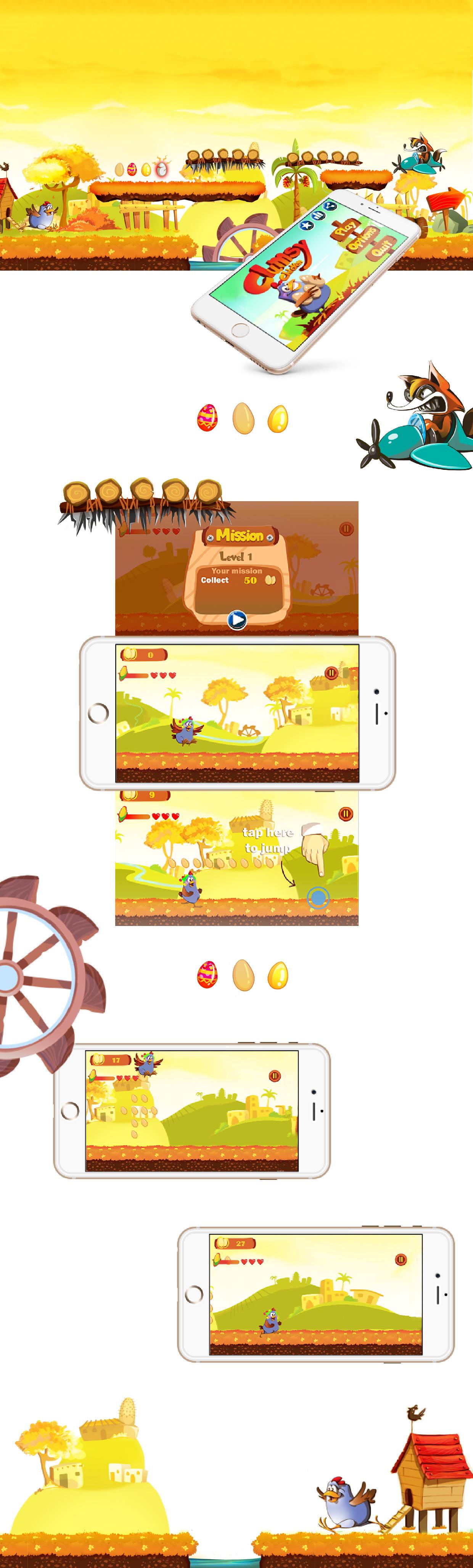 Clumsy Chicken , Game Development